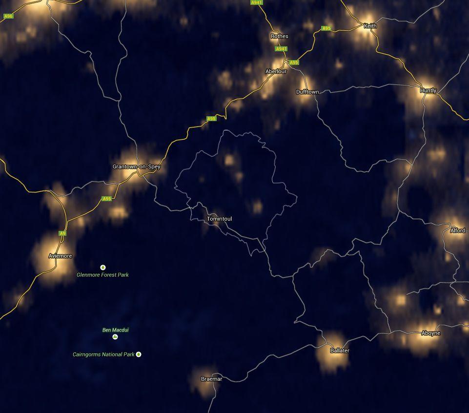 Satellite image of Partnership Area